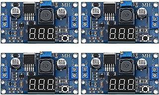 4 Pieces Adjustable LM2596S DC-DC Buck Converter Reduced Voltage Regulator Power Module 36V 24V 12V to 5V 2A Voltage Stabi...