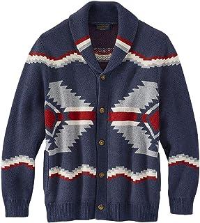 Men's Shawl Collar Highland Cardigan