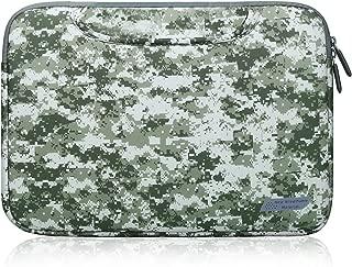 15 . 6インチのラップトップスリーブのラップトップバッグ、軽量ノートブックコンピュータスリーブキャリングケースポーチバッグasusのx551ma、東芝の衛星は、幽谷inspiron、エイサー熱望、捕食者は15 . 6のために、hpパビリオン15 ( 軍の緑)