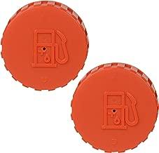 (2) Hitachi 669-1716 Orange Gas Tank Cap-D Assemblies for THB-2500, TS-720, TED-210, TED-210C