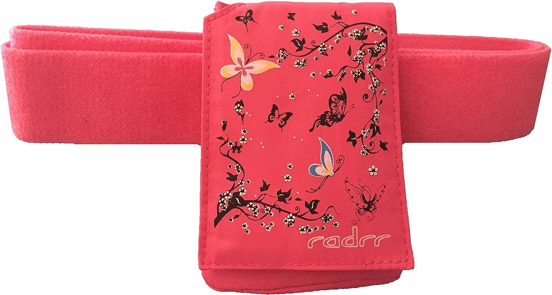 Insulinpumpe Universal Tasche mit mit mit Gürtel -Rosa Schmetterling B013E3EGJK   Günstigen Preis  244811