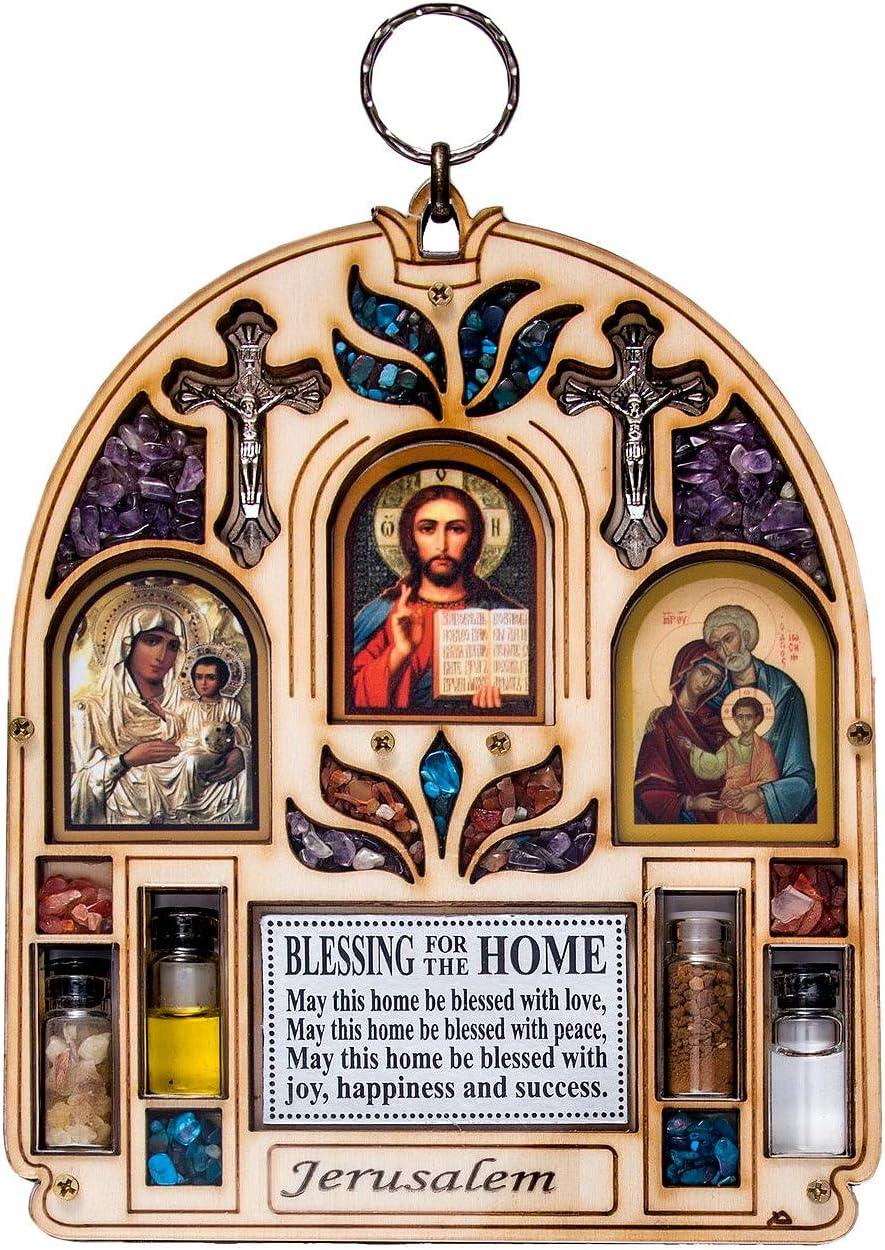 TALISMAN4U Catholic Home Blessing Wall Decor Weekly Detroit Mall update with Semi Precious