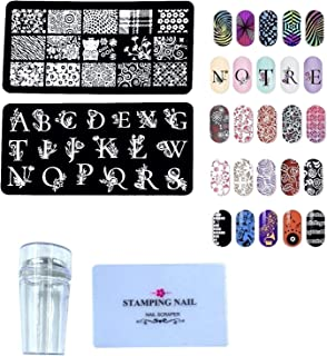 24x7 eMall nail art plate and stamper