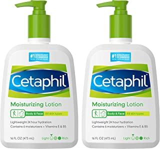 Cetaphil Moisturizing Lotion for all Skin Types For Unisex 16 oz