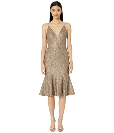 ZAC Zac Posen Robin Dress (Gold) Women