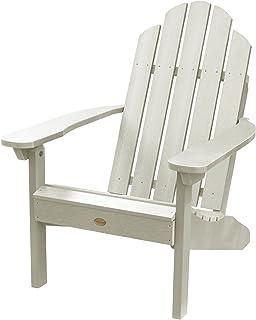 Highwood AD-CLAS1-WAE Classic Westport Adirondack Chair, Whitewash