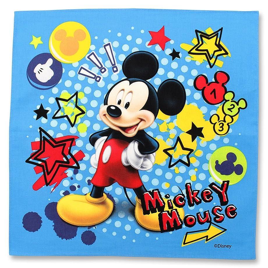 サルベージ宿泊施設作りディズニー ミッキーマウス ミッキーマウス ランチクロス 青