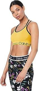CALVIN KLEIN Women's Ruched Front Strappy Sport Bra
