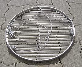 Edelstahl V2A Schwenkgrill Schwenker Grillrost 40cm Grill mit Halteösen