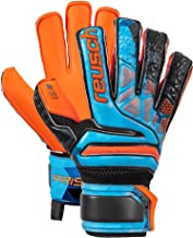 Reusch Soccer Reusch Prisma S1 Fusion Evolution Finger Support Junior LTD Goalkeeper Glove Orange/Blue