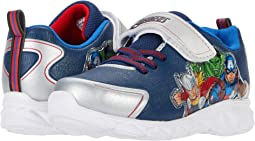 Favorite Characters Spiderman Motion Lighted Athletic Shoes Toddler//Little Kid