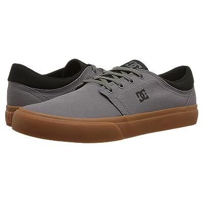 DC Trase TX (Dark Grey/Black) Skate Shoes