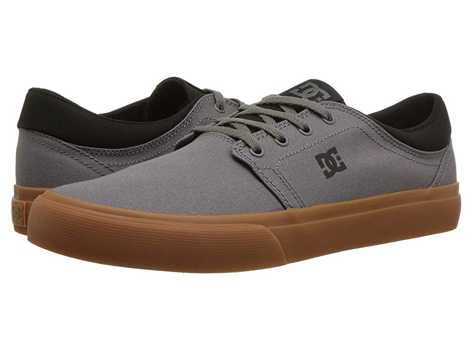 DC Trase TX (Dark Grey/Black) Skate Shoes