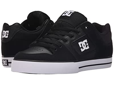 DC Pure (Black/Black/White) Men