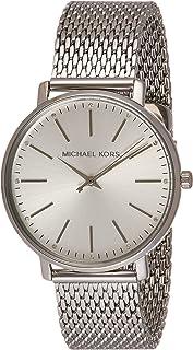 Michael Kors Pyper Women's Silver Dial Stainless Steel Analog Watch - MK4338