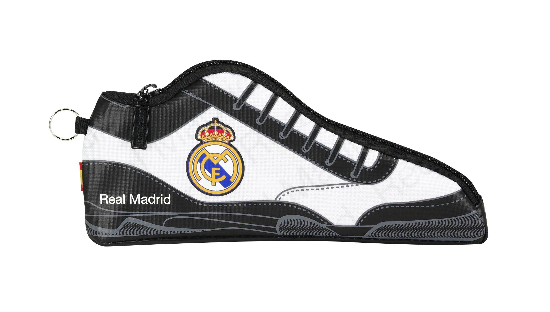 Real Madrid ST811557584 Portatodo Zapatilla (SAFTA 811557584), Unisex niños, RM 2ª Equip Multicolor, 24 cm: Amazon.es: Juguetes y juegos