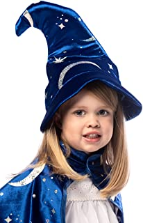 Little Adventures Royal Blue Wizard Costume Hat Age 3+