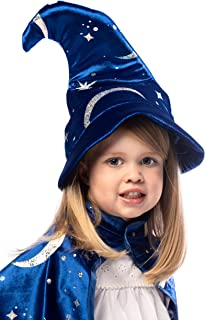 Royal Blue Wizard Costume Hat Age 3+