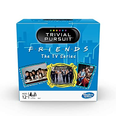 Trivial Pursuit: Friends The TV Series Edition Trivia Party Game; 600 Trivia Questions for Tweens and Teens Ages 12 and Up (Amazon Exclusive)