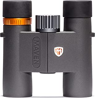Image of Maven C2 7X28mm Compact Binoculars Gray/Orange