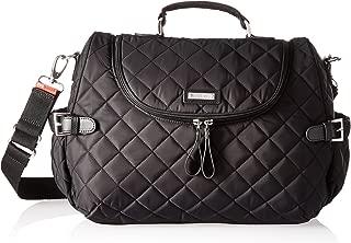 Storksak Poppy Convertible Backpack Diaper Bag, Black