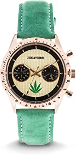 Unisex Watch Analogue Display and Leather Strap ZVM111