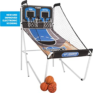 Triumph Big Shot II Double Shootout Basketball Game with LED Electronic Scorer and Time..