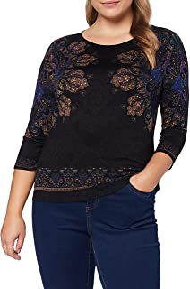 Desigual Women's T-Shirt 3/4 Sleeve