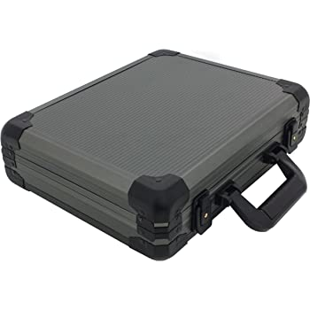 Watch Case Aluminum Briefcase for 18 Large Watches