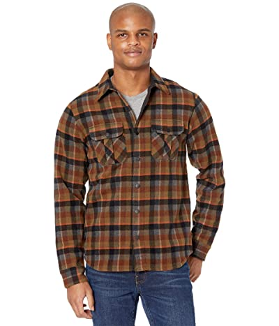 Smartwool Anchor Line Shirt Jacket (Olive Plaid) Men