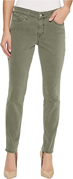 Petite Alina Legging Jeans in Fatigue