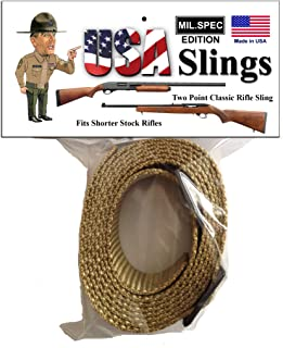 2 Point Rifle Sling Classic Mil.Spec Tradational Sling
