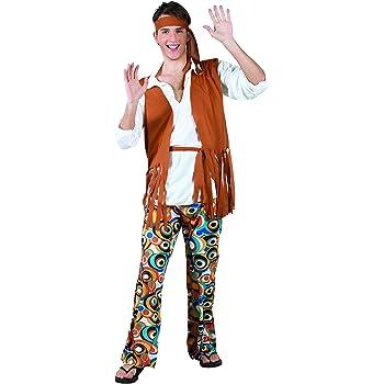 Boland Disfraz para hombre del Hippie Flower Power Flower ...