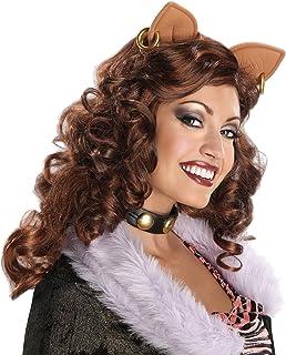 Costume da donna anni party dritto breve parrucca capelli artificiali Flirty Flick