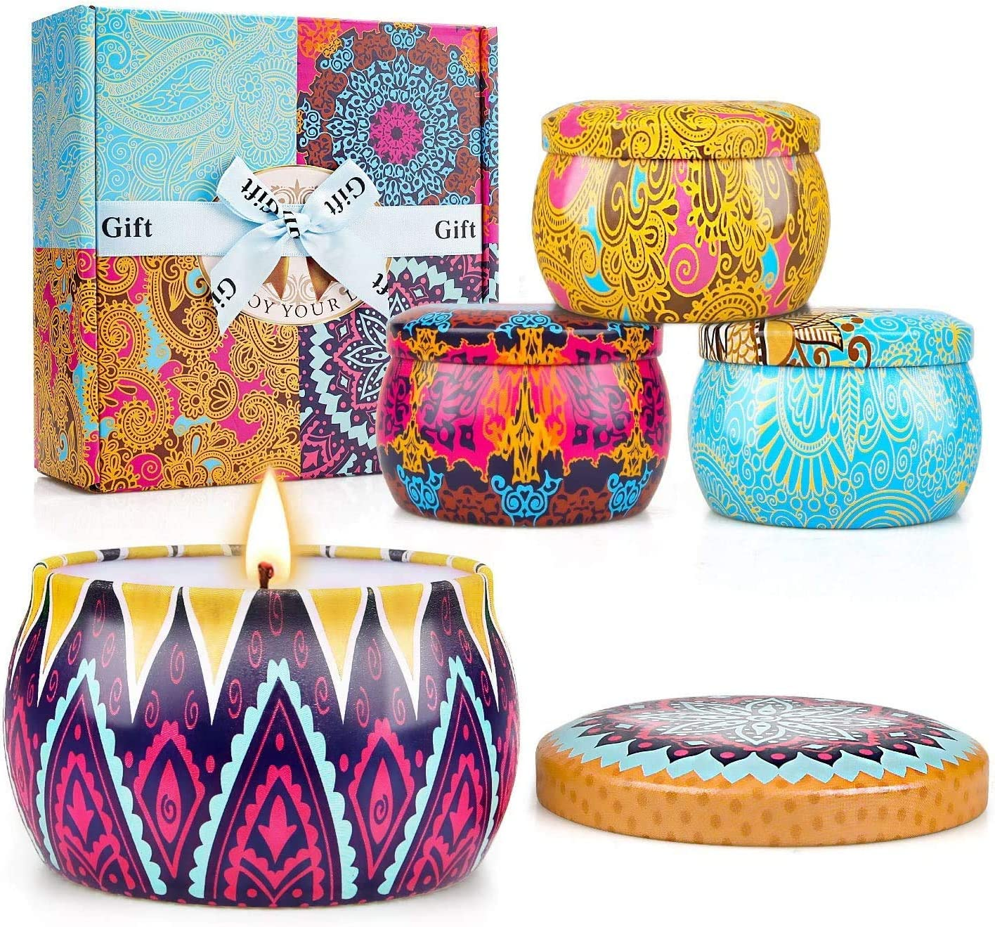 Truegood Mothers Day Gifts Candle 10 Set Oklahoma City Mall OFFicial store Candles Women Scented