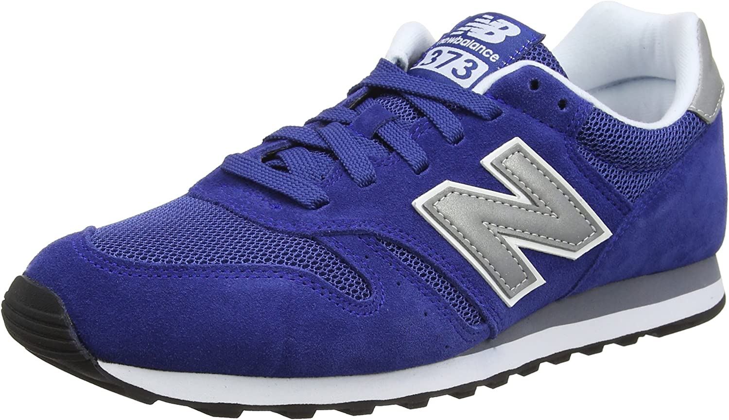 New Balance Mens 373 Suede Trainers