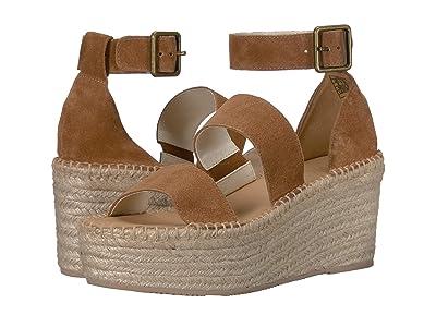 Soludos Palma Platform Sandal (Walnut) Women