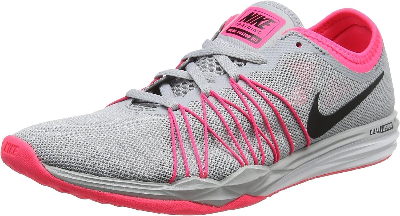 Nike Damen WMNS Dual Fusion Tr Hit Turnschuhe, schwarz