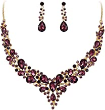Best burgundy jewelry sets Reviews