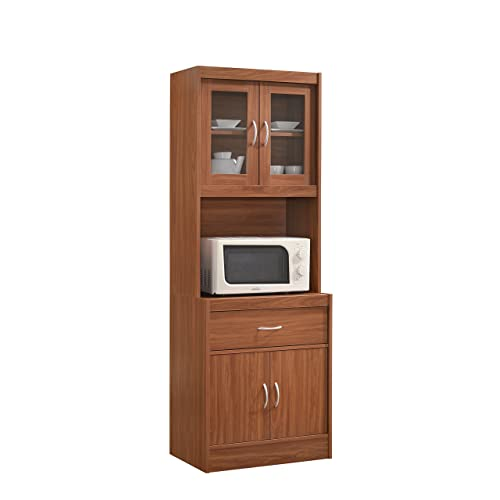 Microwave Cabinets With Storage: Amazon.com