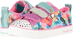 SKECHERS KIDS - Twinkle Toes – Twinkle Breeze 10818L Lights (Little Kid/Big Kid)