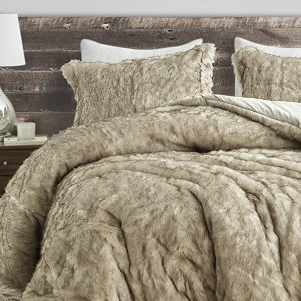 Coma Inducer Oversized Queen Comforter Arctic Bear Tundra Brown