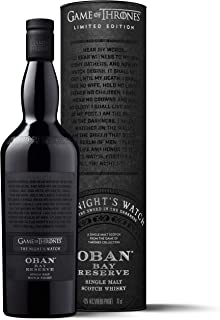 Oban Little Bay Reserve Single Malt Scotch Whisky – Die Nachtwache Game of Thrones Limitierte Edition 1 x 0.7 l