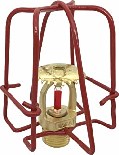 Happy Tree (6 Pack) Red Fire Sprinkler Head Guard Cover for 1/2