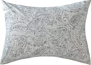 Ella & Max Toddler Pillowcase. Blue and White Paisley Print. Soft & Cuddly. Fits 13x18 & 14x19 Toddler Pillows. Easy to wash & no Ironing. Handmade in USA. Made of Luxury Microfiber Fabric.
