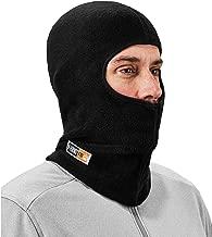 FR Rated Balaclava, Winter Face Mask, Thermal Fire Resistant Modacrylic Fleece, Ergodyne N-Ferno 6828