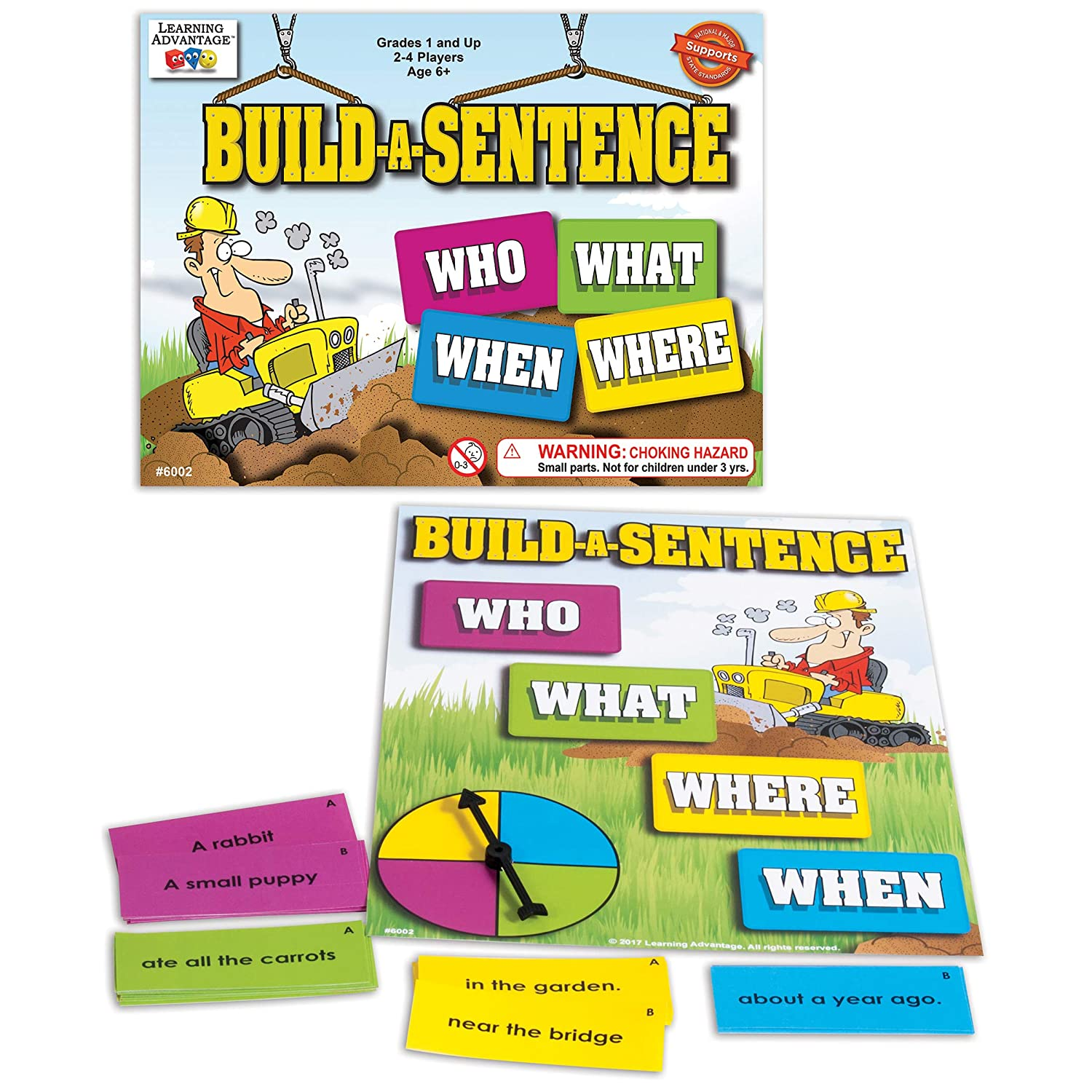 LEARNING ADVANTAGE-6002 Build-A-Sentence Discount is also underway - Games Ki Learning for Ranking TOP13
