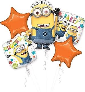 Amscan 3614901Set Despicable Me Minions Foil Balloon