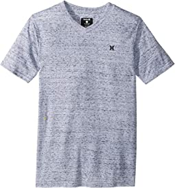 Cloud Slub Staple V-Neck Tee (Big Kids)