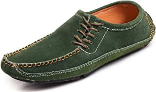 Odema Hommes Docksides PU/Suède Conduite Chaussures Bateau pour Hommes Conduite Désigne